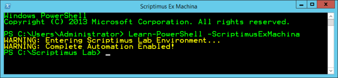Scriptimus PowerShell Banner